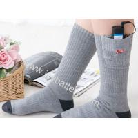 Wholesale Rechargeable heated socks thermal socks/ electric socks/battery heated socks from china suppliers