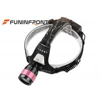 Wholesale CREE T6 Outdoor Zoomable Led Headlamp, Water Resistant Bicycle Headlights from china suppliers