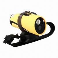Wholesale Water-resistant HD Video Sports Camera/Diving DVR with Flashlight from china suppliers