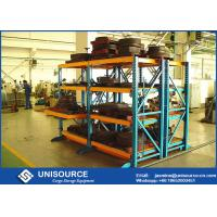 "Wholesale Roll Out Heavy Duty Racks For Warehouse , Adjustable Steel Storage Racks On 1"" Centers from china suppliers"