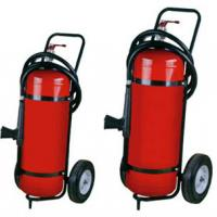 Quality Durable 50kg 40% Powder Trolley Fire Extinguisher Odorless For Computer Room for sale