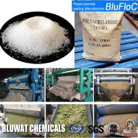Wholesale Zetag 4120 Equivalent Cationic Polyelectrolyte Flocculants For Screw Press Sludge Dewatering from china suppliers