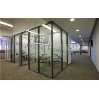 Wholesale 12MM clear tempered glass with frosted film as office from china suppliers