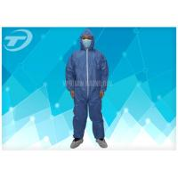 Wholesale Disposable Protective Clothing Non - Woven Disposable Coveralls With Hood from china suppliers