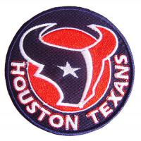 Wholesale NFL Houston Texans Logo Embroidered Iron on Patch from china suppliers