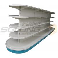 Wholesale Half Round Supermarket / Convenience Store Display Racks Indoor Outdoor from china suppliers