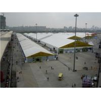 Quality Waterproof Outdoor Tent For Exhibition , White Party Tent Aluminum Alloy Rooftop for sale