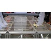 Wholesale Glass Square Acrylic Stage Platform Anti-slip For Evens from china suppliers