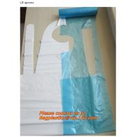 Wholesale plastic pe aprons, poly apron, ld disposable, aprons, LDPE apron, HDPE apron, PE apron from china suppliers