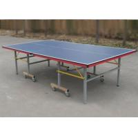 Wholesale Universal Size Indoor Table Tennis Table Rollaway Easy Handle 15mm MDF from china suppliers