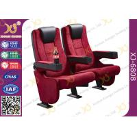 Wholesale Rocker Back luxury Movie Theatre Auditorium Chair With Tablet Arms from china suppliers