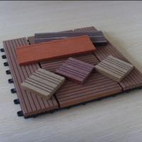 Wholesale WPC DIY Tile and Wood Plastic Composite Interlocking Decking Flooring from china suppliers
