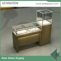 Wholesale Showcase display furniture jewelry display shop glass cabinet interior design from china suppliers