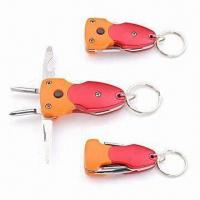 Wholesale 7 Functions Pocket Knives, Made of Stainless Steel Body and Aluminum Handle from china suppliers