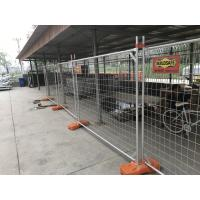 Wholesale Build safe Temporary Fencing Panels with Steel Sign1990 x 2495mm from china suppliers