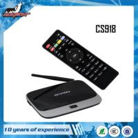 Wholesale CS918 android4.2 Quad Core 2G DDR+8G Flash from china suppliers