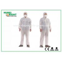 Wholesale Hooded Nonwoven Disposable Coveralls with Various Colors CE Standard from china suppliers
