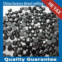 Wholesale Lead free hot fix rhinestones jet nut color from china suppliers
