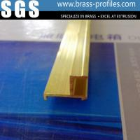 Wholesale Quilk Delivery Special Designed Copper Doors & Windows Frame Brass Profile from china suppliers