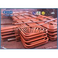 Wholesale Red color Carbon Steel Superheater And Reheater , Energy Saving For Power Station from china suppliers