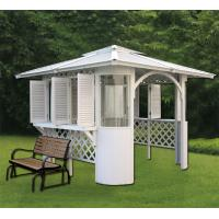 Monalisa m 902 luxury polystyrene gazebo canopy bower hot for Hot tub shelters