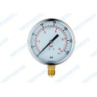 Wholesale CE Standard general instruments pressure gauge with blow out disc from china suppliers
