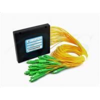 Wholesale Custom SC / APC 1*32 PLC Optical Fiber Splitter With 3.0mm Cable from china suppliers