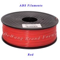 Wholesale Extruder 3D printing materials  red abs filament   1.75mm Diameter from china suppliers