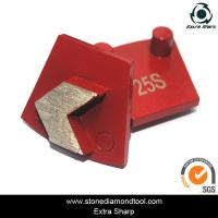 Wholesale Werkermaster Diamond Metal Floor Grinding Disc Concrete Abrasive Tools with 2 pins from china suppliers