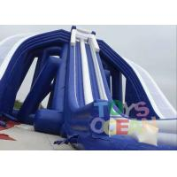 Wholesale Giant Blue Color PVC  Beach Inflatable Triple Hippo , Inflatable Water Slide for Adults from china suppliers