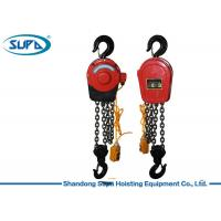 China Remote Control 1 Ton Chain Hoist , Chain Block Lifting Equipment Electric Driven on sale
