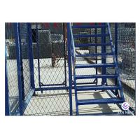 Wholesale Simple Quick Installation Safety Construction Cage , Step Ladder Cage For Subway Tunnel from china suppliers