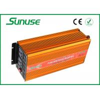 Wholesale 4000 Watt Full Pure Sine Wave Power Inverter , 12 Volts To 220 Volts Square Inverters from china suppliers