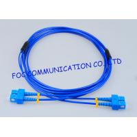 Wholesale Rugged Optical Fiber Patch Cord SC - SC G.657A Fiber Optic Jumper Cables from china suppliers
