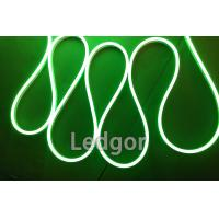 ledgor green color led neon flex slim type