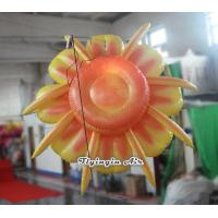Quality Customized Hanging Decorative Inflatable Flower for Exhibition and Stage Decoration for sale
