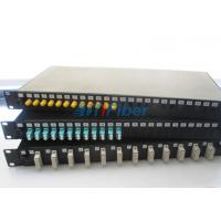 "Buy cheap 19"" Fiber Optic Cable Junction Box For LC ST SC FC Connectors , Optical Terminal Box from wholesalers"