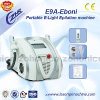 Wholesale Portable E-light IPL RF With Two Elight Handles For Depilation & Pigment Removal from china suppliers