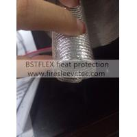 Quality aluminum fiberglass heat protection tube for sale