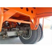 Quality Flatbed Semi Trailer Truck 3 Axles Container Carrying Heavy Equipment Trailer for sale