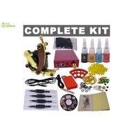 Wholesale Portable Apprentice / Beginners Tattoo Kit With Latex Tattoo Gloves  , 1 Clip Cord from china suppliers