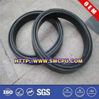 Wholesale Molded custom silicone round flat rubber gasket from china suppliers