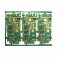 Wholesale FR-4 Double-sided PCB with 1.6mm Board Finished Thickness and HASL Lead-free Surface Treatment from china suppliers