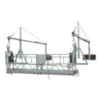 Wholesale Industrial Suspended Scaffolding Maintenance Cradle With Hoist 2.2kw 2.5M*3 Sections from china suppliers