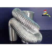 Wholesale Round HVAC Aluminum Flexible Duct , Customized Fire Resistant Flexible Ducting from china suppliers
