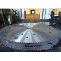 Wholesale Trenching machine use 75Cr1 material slotting circular diamond saw blank and steel core from china suppliers