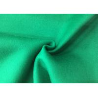 Wholesale Pure Green Double Layer Fabric , Wool Felt Fabric Various Design Comforcable from china suppliers