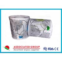 Wholesale Flushable Wet Wipes Rolls For Household Toilet Use , Slight Scented Wet Wipes from china suppliers