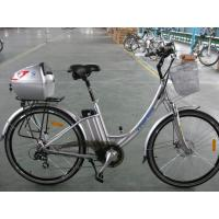 Wholesale 250W Li-Ion Lithium Battery Electric Powered Bicycles 24V 8AH from china suppliers
