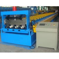 Wholesale 0.6-1.5mm Steel Ribbed Panel Floor Decking Cold Roll Forming Machine & Equipment from china suppliers
